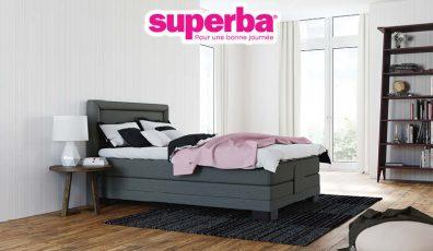 boxspring literie concept. Black Bedroom Furniture Sets. Home Design Ideas