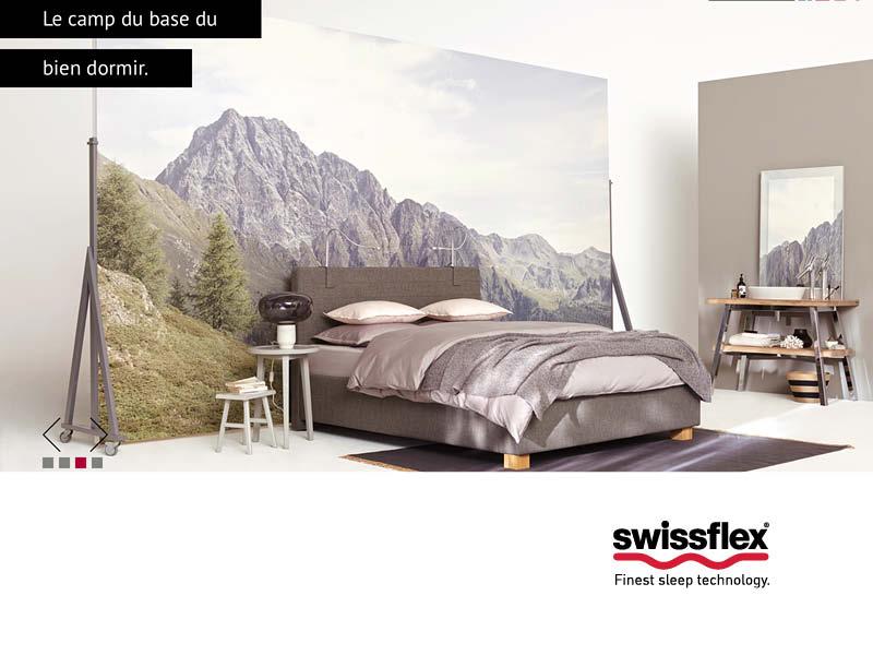 Literie Swiss Made Swissflex Literie Concept