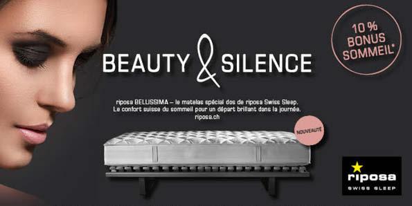 offre riposa suisse literie concept. Black Bedroom Furniture Sets. Home Design Ideas