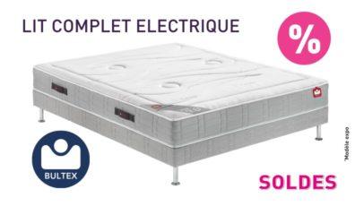 Soldes lit électrique