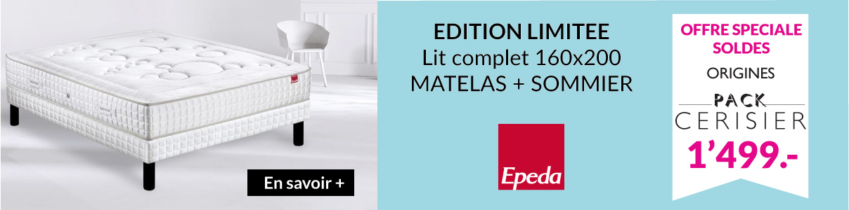 Offre lit complet epeda